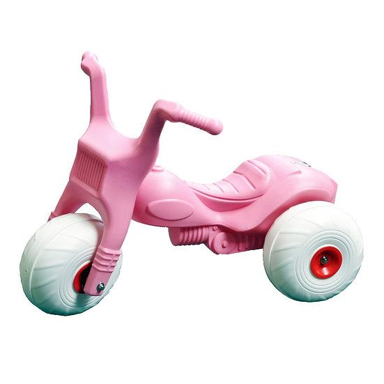 Pink toddler trike