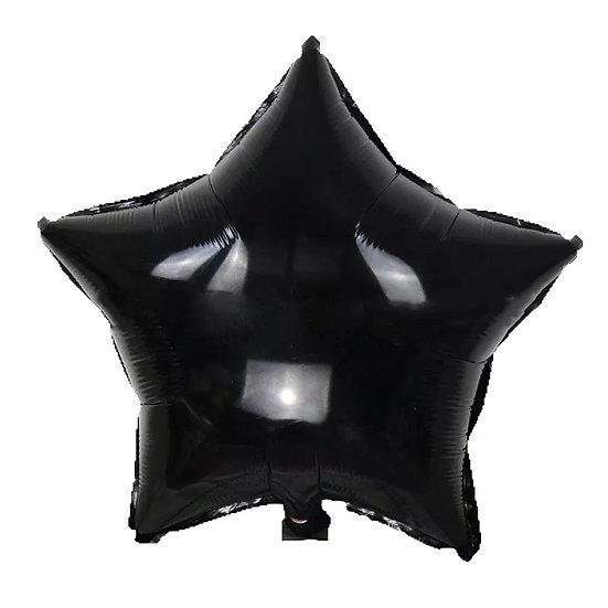 Back star balloon