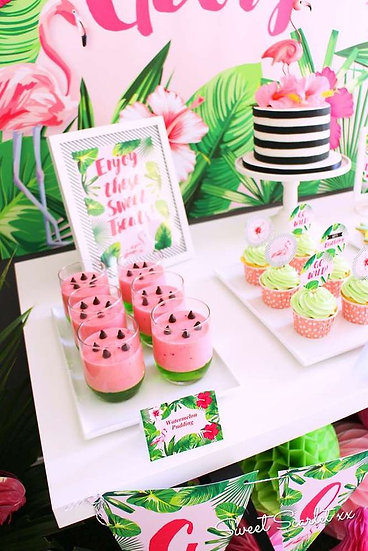 Tropical party inspiration