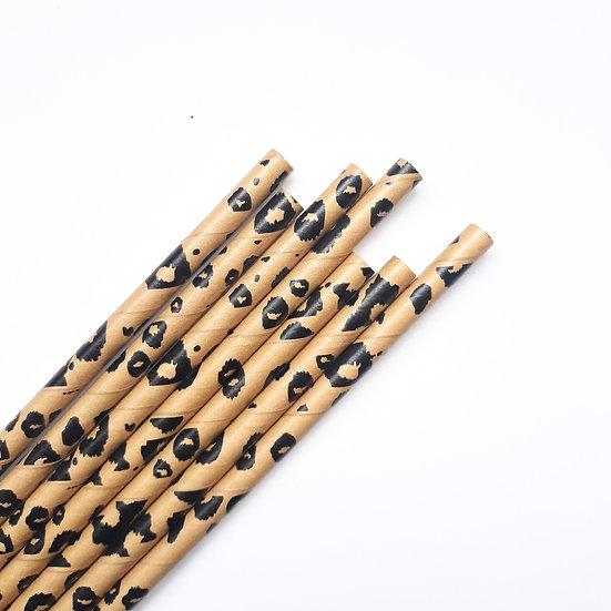 Cheetah straws
