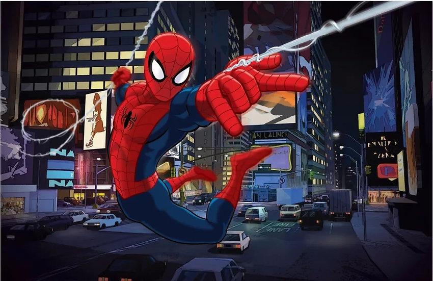 Spiderman backdrop