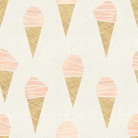 Ice cream backdrop