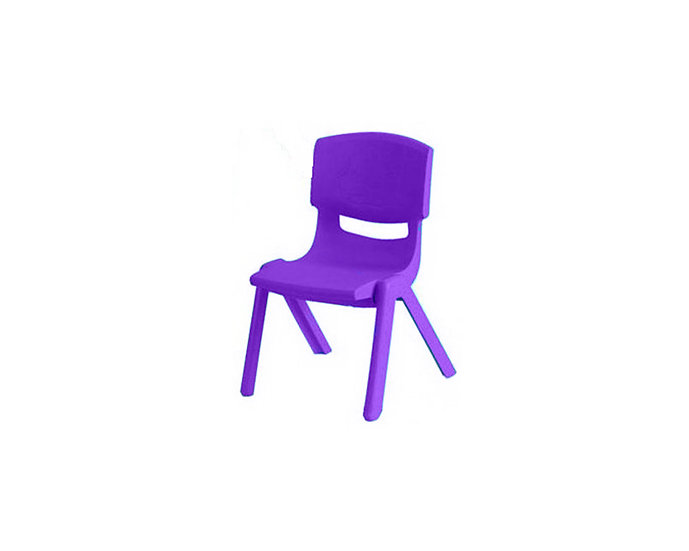 Purple kid's chair