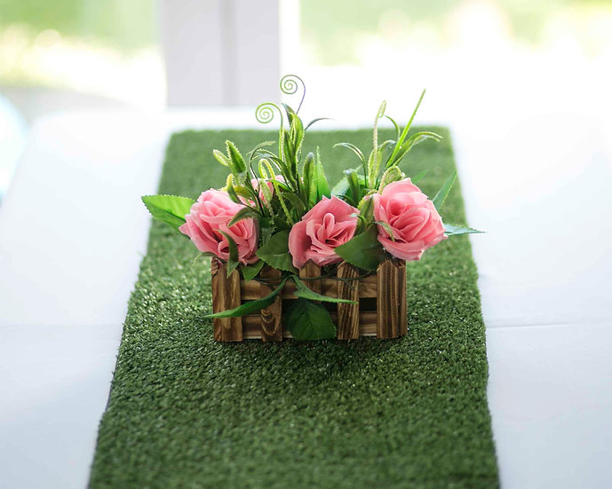 Fairy garden party centerpiece