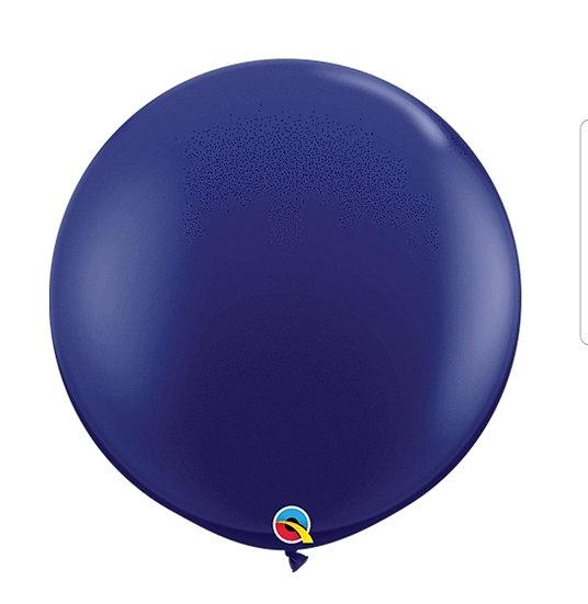 3 foot oversized navy balloon