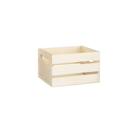Wooden crate - small