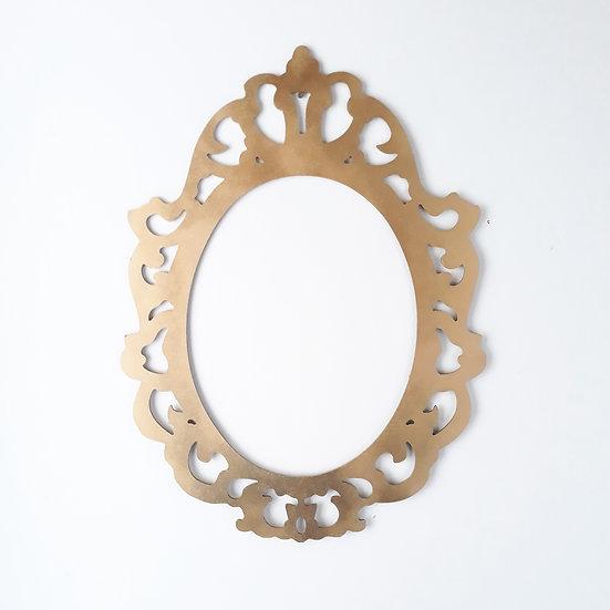 Gold & silver frame - reversable