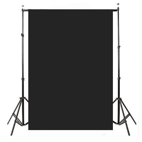small black cloth backdrop