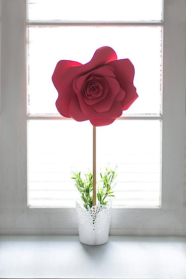 Beauty and the Beast standing rose