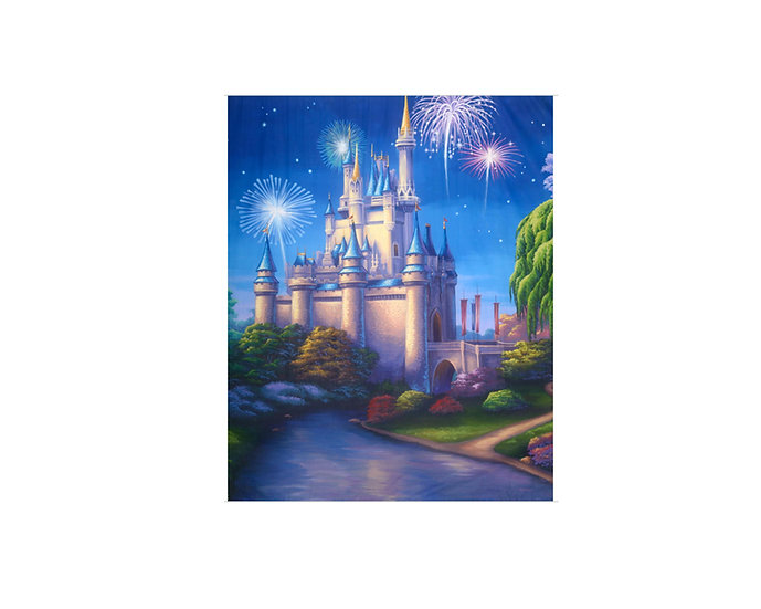 Princess castle backdrop / scene setter