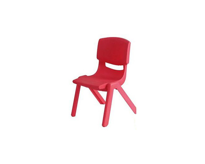 Red child's chair
