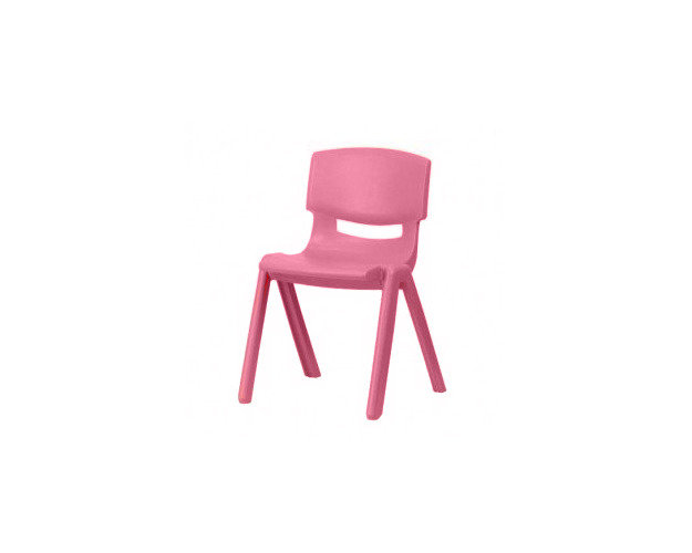 Pink kid's chair