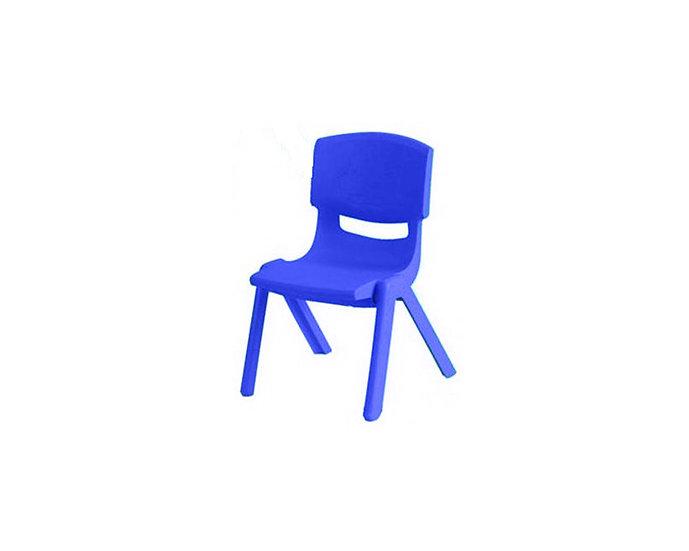 Blue kid's chair