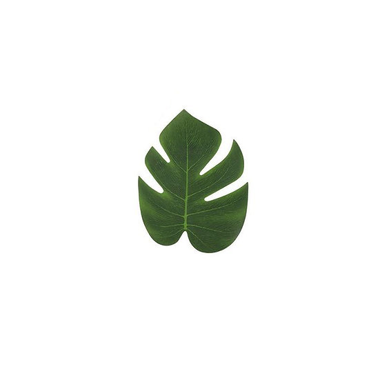 Tropical leaves - small