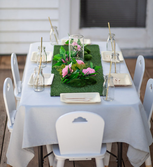 Fairy table set up