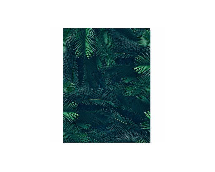Jungle leaf backdrop
