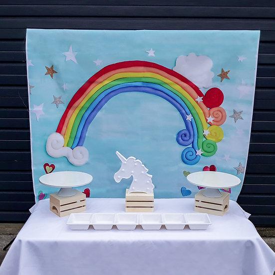 Unicorn food table