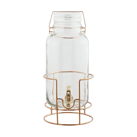 Drink dispenser - rose gold
