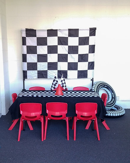 Racing car party package