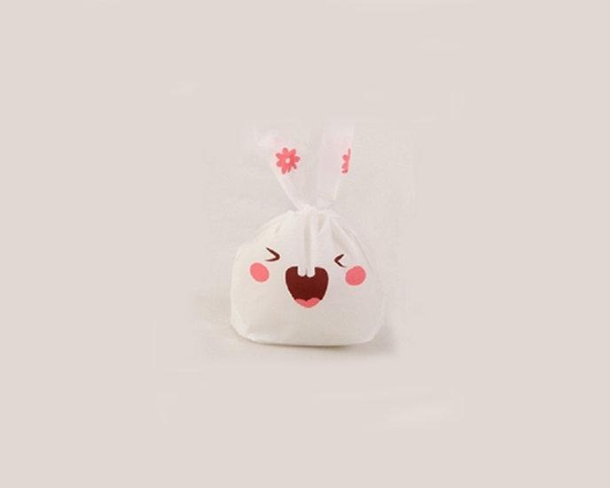 White bunny treat bags