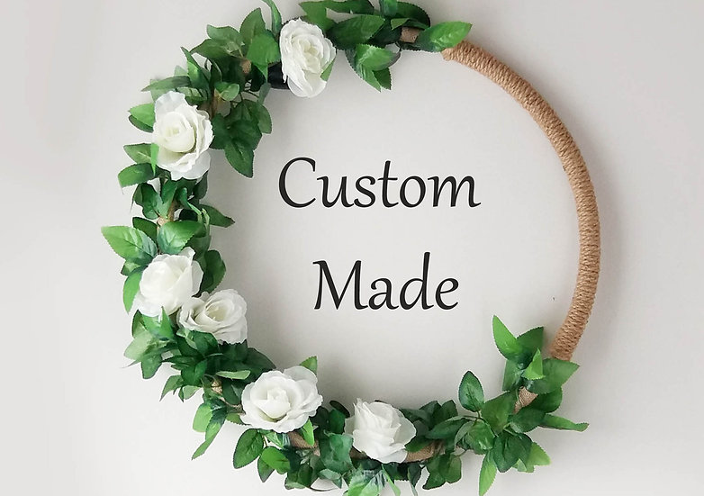 Custom made decorations