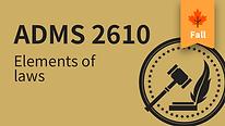 ADMS 2610