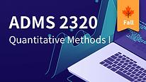 ADMS 2320