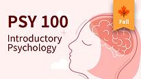 PSY 100