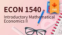 ECON 1540