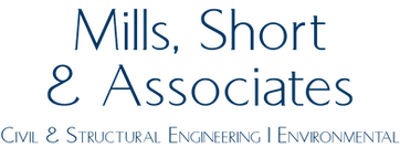 Mills, Short & Associates Logo | Civil and Structural Engineering Firm Logo