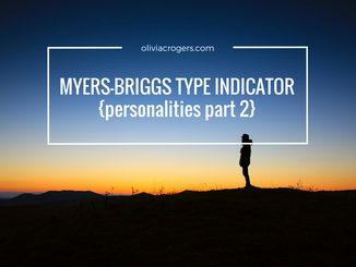 Myers-Briggs Type Indicator {Personalities, Part 2}