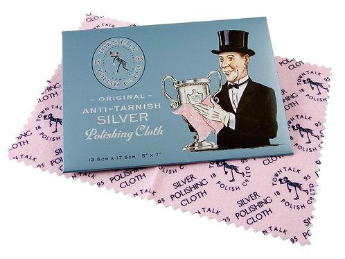 Silver Polishing Cloth by Town Talk. Mini Silver Polishing Cloth