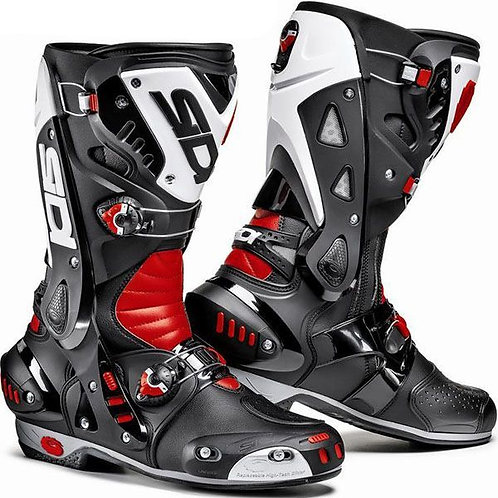 Sidi Vortice Boots Black/Red/White