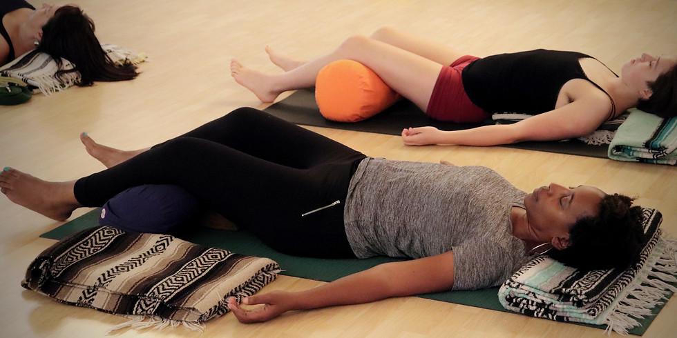 Deep Relaxation Yoga Nidra with Heather Farrell