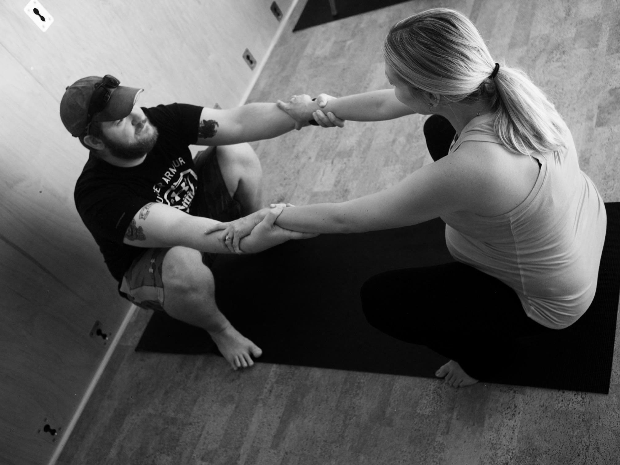 Partner Yoga For Labor Birthing With Shana Lane Zhenya Novgorodskaya