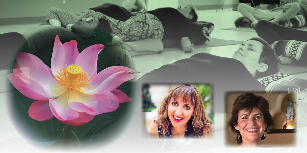 Awareness & Deep Rest with Zoreh Afsarzadeh & Giovanna Rossi