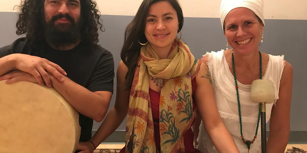 Kirtan Meditation & Sound Bath with  Deva Khalsa, Zhenya Novareign & Jesse Kalapa