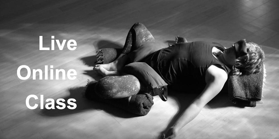 Restorative Yoga with Avery Kalapa