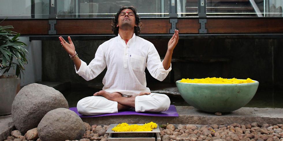 Vedic Mantra Sadhana with Yogacharya Sanjay
