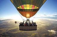 групповой полет на шаре