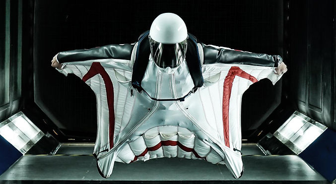 Wingsuit wind tunnel