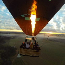Воздушный шар в подарок полет