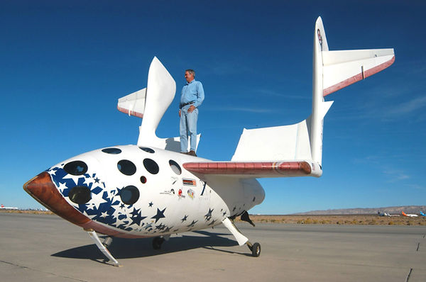 Космический туризм Рутан