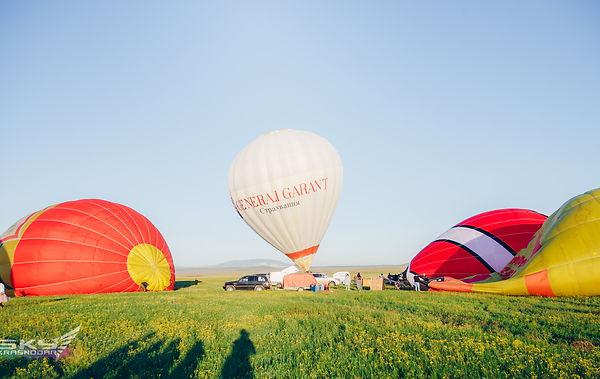 фестиваль воздушных шаров абинск