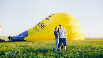 наполняем воздушный шар