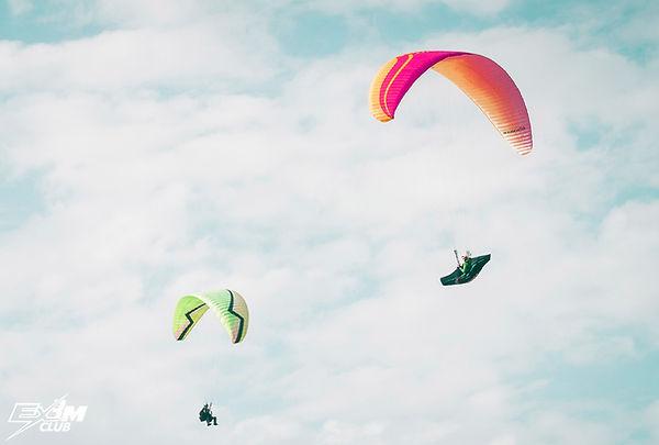 полёт на параплане Абхазия