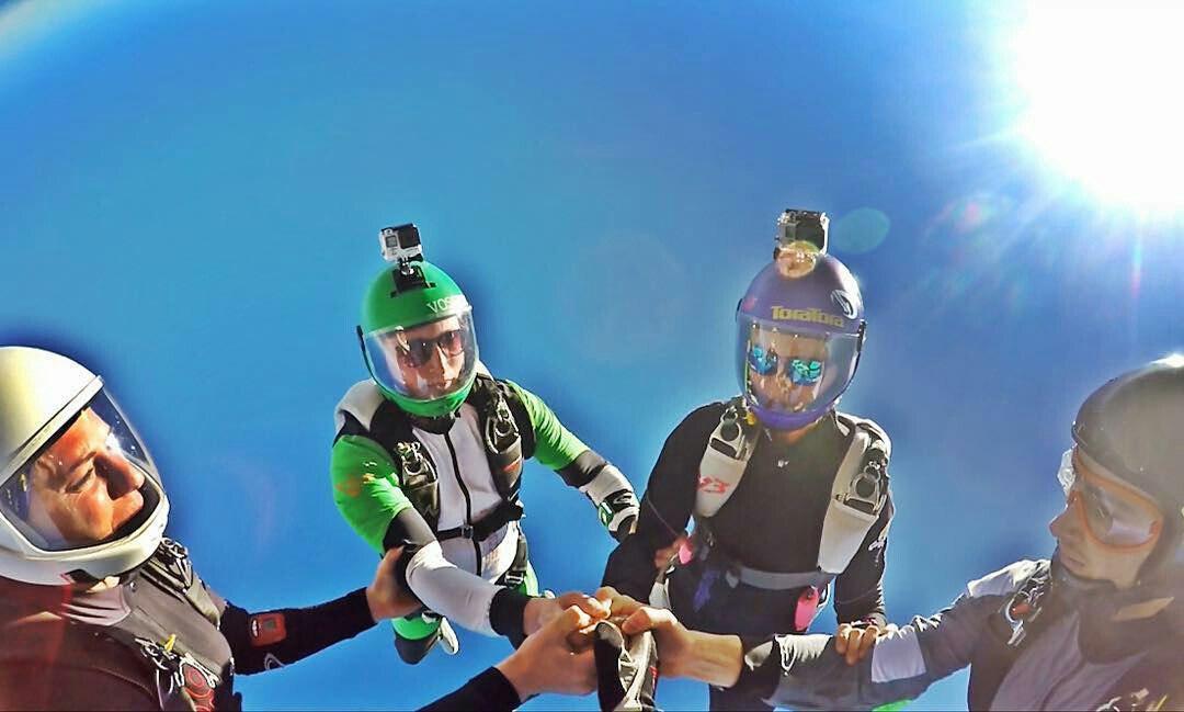 Прыжки с парашютом Краснодар
