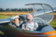 Полет на планере Бланик Л-13