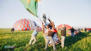 запуск воздушного шара