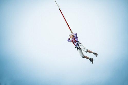 Прыжок с веревкой | Высота 20 метров | Краснодар | Мост | Подарок